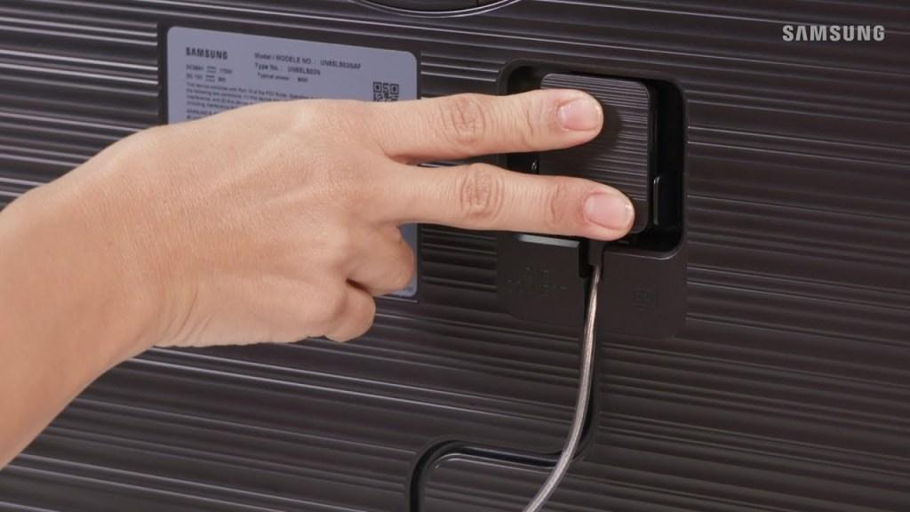 نظام اتصال فريد يلغي الاستخدام المفرط للكابل ويحافظ على مظهر أنظف