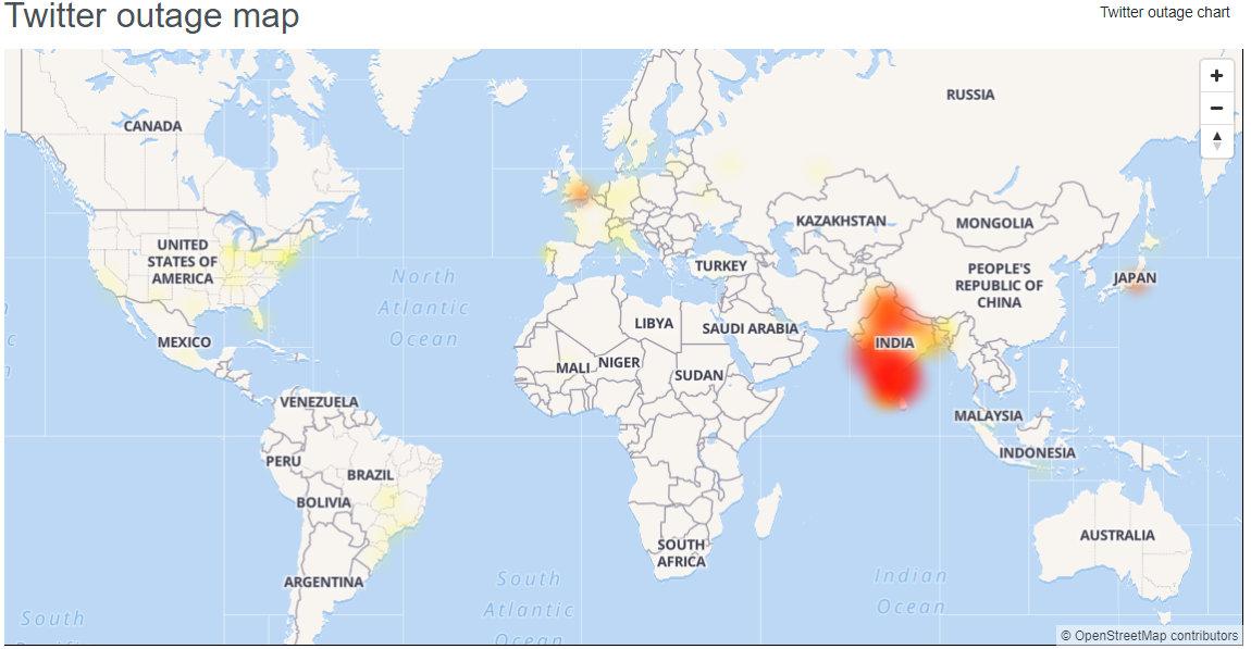 Twitter أسفل: [Update] Twitter  مرة أخرى عبر الإنترنت بعد انقطاع قصير ، يتنفس المستخدمون من الصعداء 2