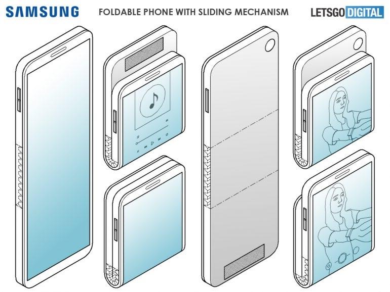 سامسونج براءات اختراع تصميم جديد للجيل الثاني من Galaxy Fold 1