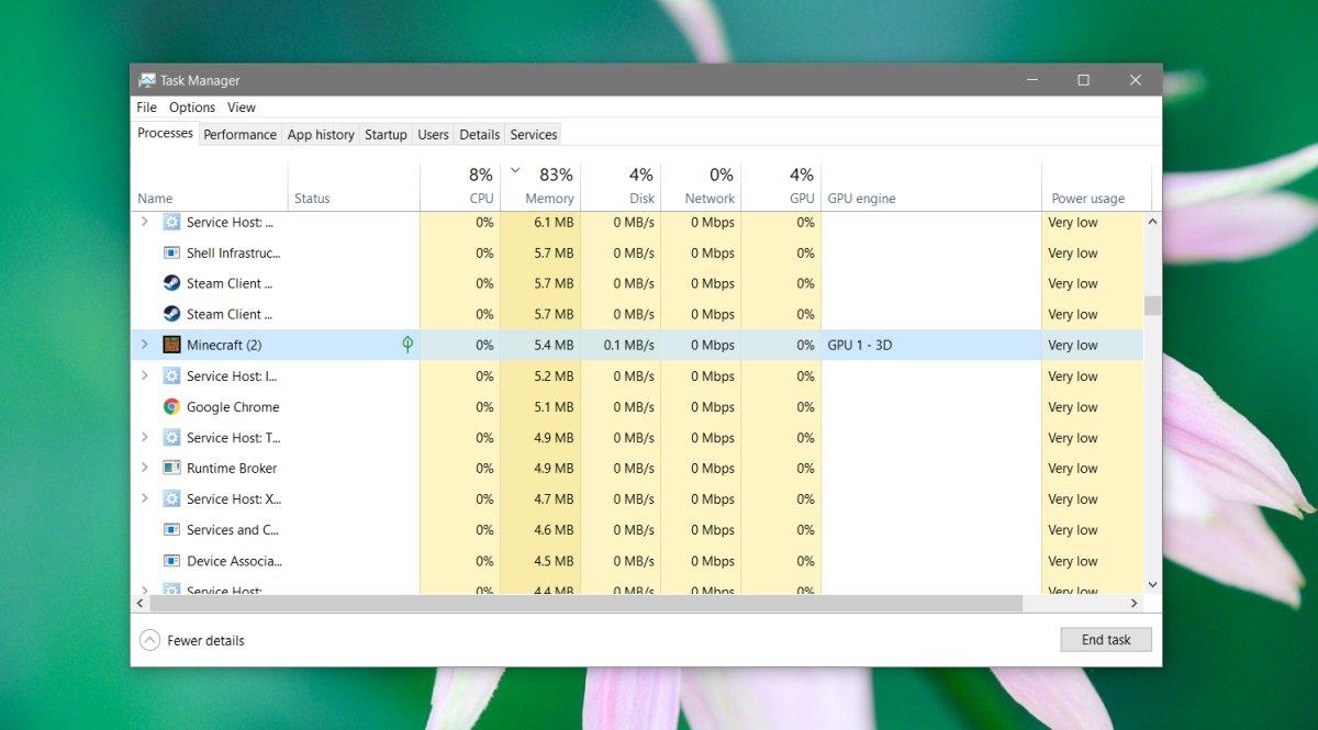كيفية فرض تطبيقات UWP لاستخدام GPU على Windows 10 3