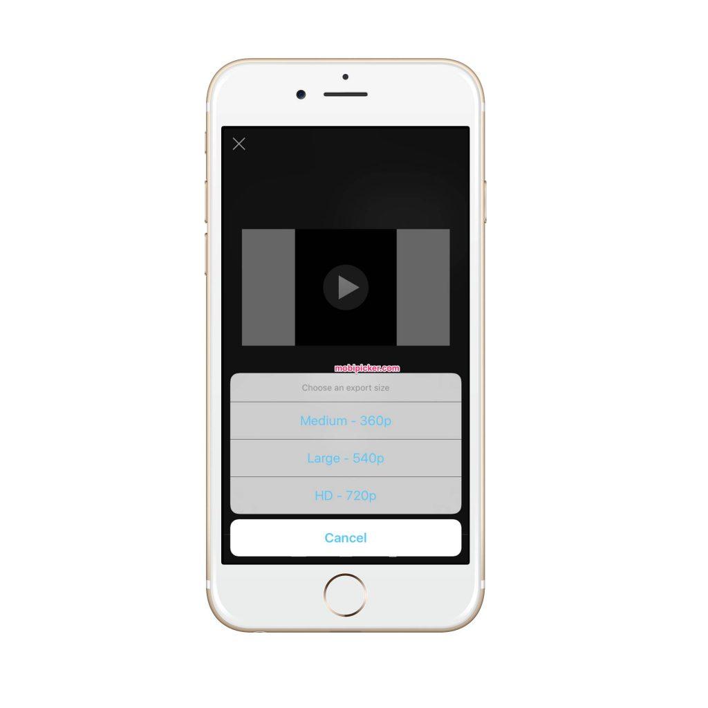 كيفية تدوير الفيديو على اي فون