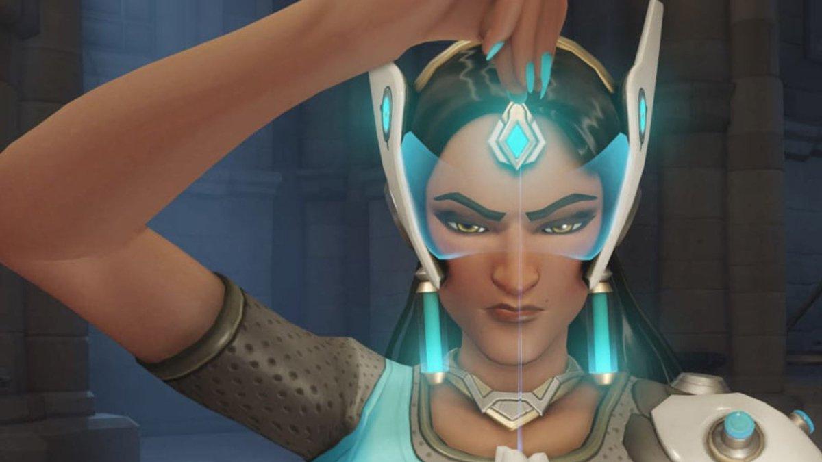"""مرة واحدة أقل شخصية لعبت Overwatch ، Symmetra هي الآن لعبة """"إنها فتاة"""" 1"""
