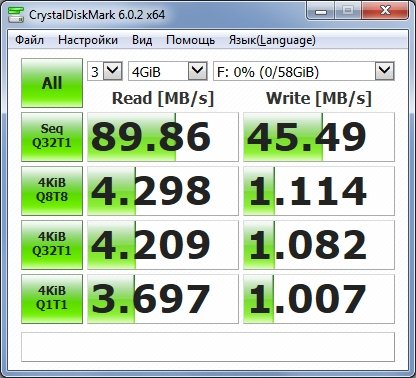 بطاقة ذاكرة Netac P500 Pro سعة 64 جيجابايت سريعة وغير مكلفة إلى حد ما (U3 / V30) 9