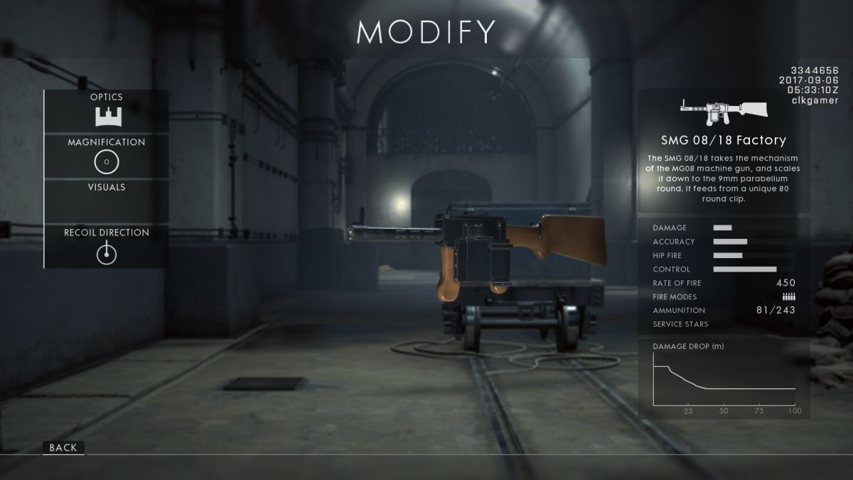 كيفية فتح كل بندقية جديدة في ساحة المعركة 1: باسم القيصر 3