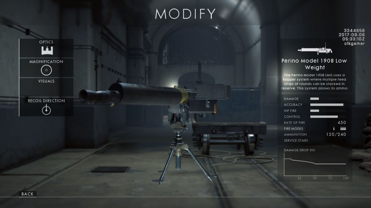 كيفية فتح كل بندقية جديدة في ساحة المعركة 1: باسم القيصر 7