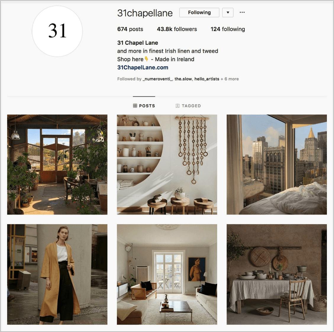 جدولة المشاركات في Instagram: 31chappelane