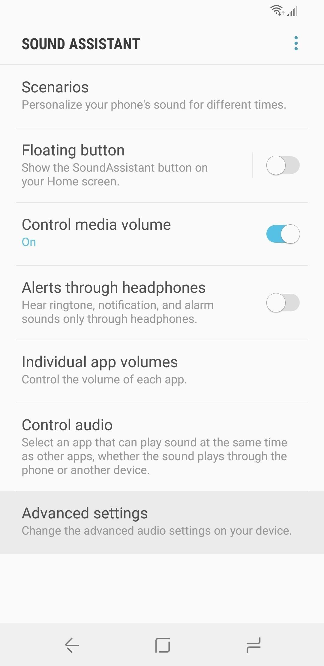كيفية زيادة عدد الخطوات حجم على حسابك Galaxy Note  9