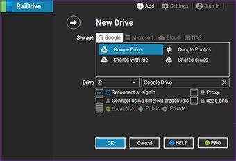 كيفية استخدام Google Drive كخادم Ftp أو محرك أقراص الشبكة مجانًا 7