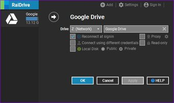 كيفية استخدام Google Drive كخادم Ftp أو محرك أقراص الشبكة مجانًا 1