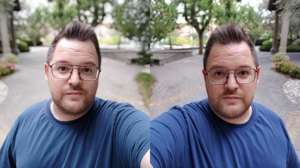 المهوس من النظارات صورة شخصية مع Oneplus 7 Pro