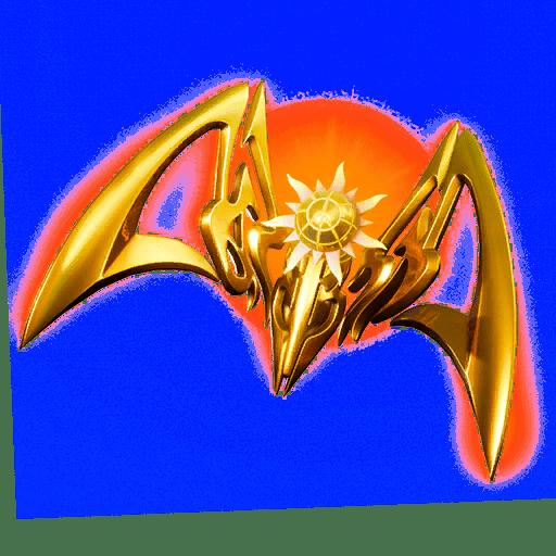 Fortnite  X الليزر الرئيسية متسربة الظهر بلينغ - أجنحة الليزر