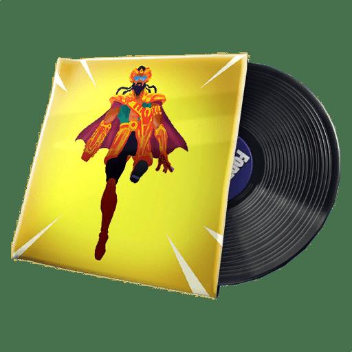 Fortnite  س الرائد الليزر متسربة الموسيقى - النار الافتراضي