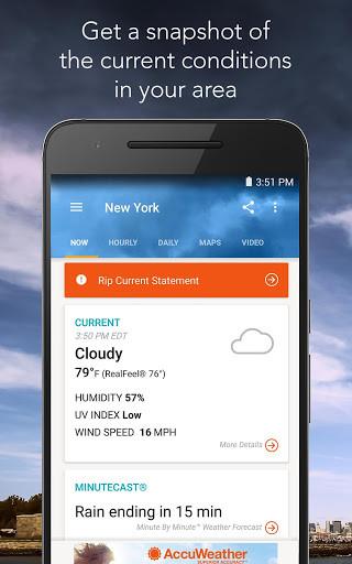 أفضل تطبيقات الطقس للتثبيت على Android 1
