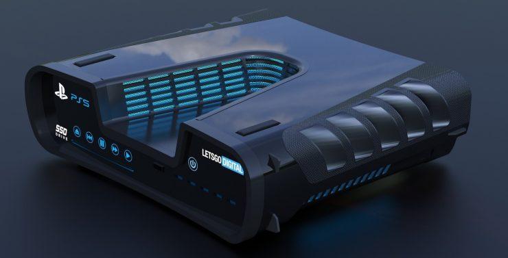 بلاي ستيشن 5 تصميم وحدة التحكم