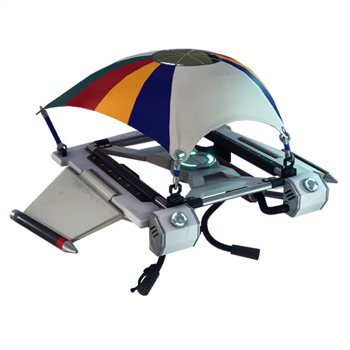 Fortnite  طائرة شراعية - طائرة مقاتلة