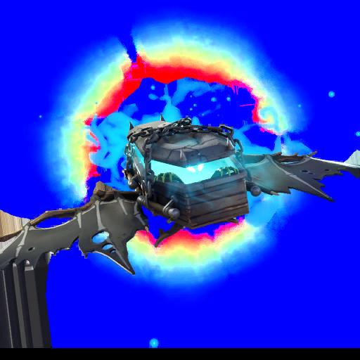 Fortnite  طائرة شراعية - سرداب الطراد