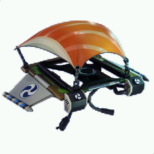 Fortnite  طائرة شراعية - السمك الطائر