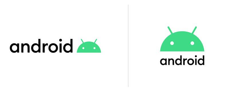 الشعارات الجديدة التي سيتم استخدامها من Android 10.