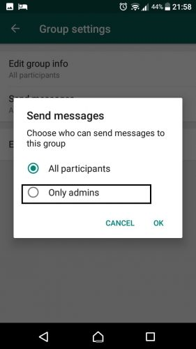 ثلاثة إعدادات لمجموعة Whatsapp لم تكن تعرف بوجودها   Tech-Recipes 9