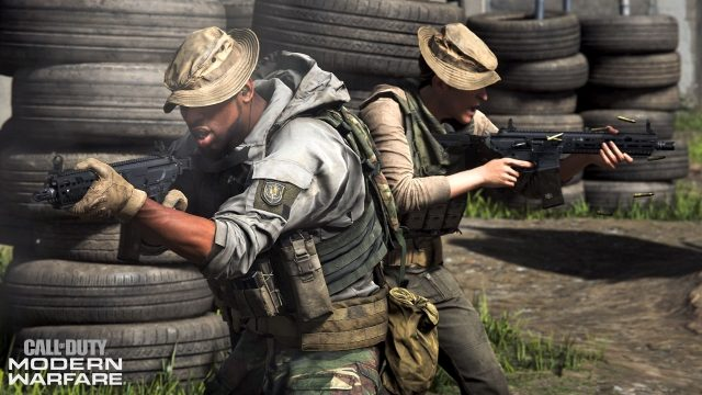 Call of Duty Modern Warfare Console FOV Slider