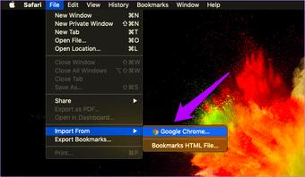 استيراد إشارات Chrome إلى Safari 6