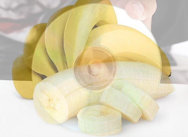 باستخدام الموز (أو cambur)