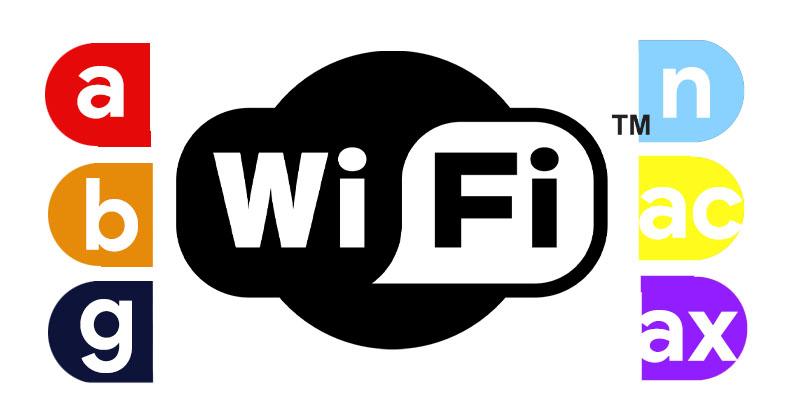 أنواع wifi