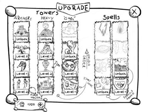 رسم كتاب رسومات الشعار المبتكرة تعال إلى الحياة في برج الدفاع لعبة رسم الحروب 1