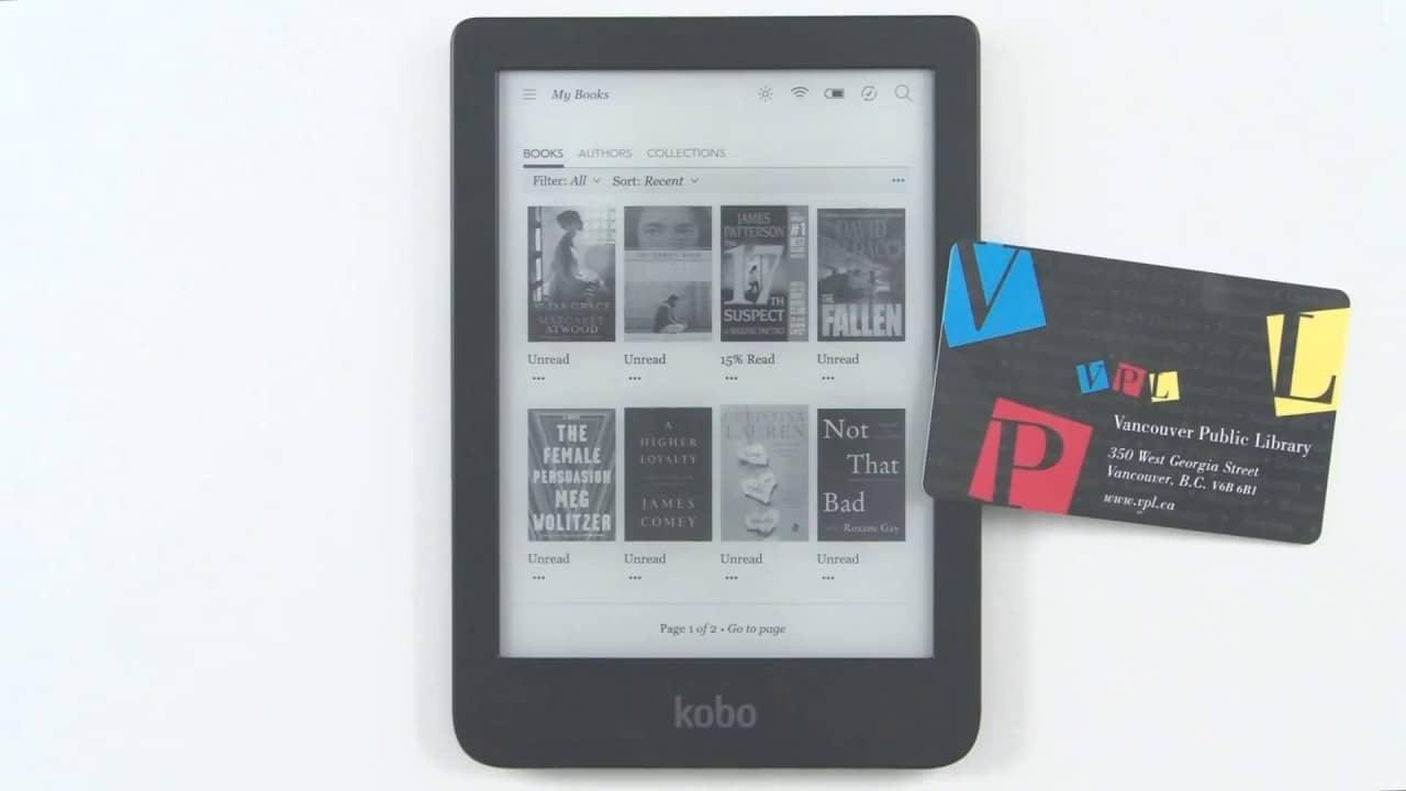 أفضل القراء الإلكترونية لاستعارة الكتب الإلكترونية من المكتبة 1