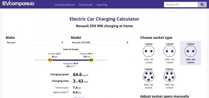 كم من الوقت يستغرق لشحن سيارة كهربائية؟ استخدم هذه الآلة الحاسبة