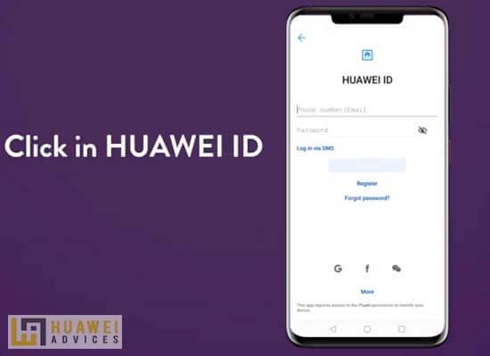 ما هو معرف هواوي؟ كيف يمكنني التسجيل للحصول على معرف Huawei جديد؟ 1