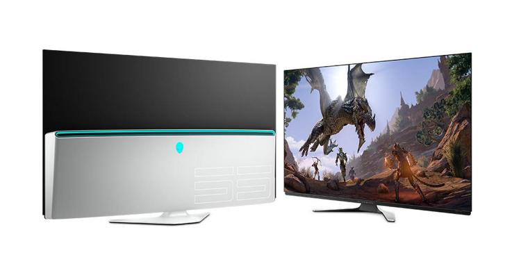 Alienware 55 شاشة OLED للألعاب