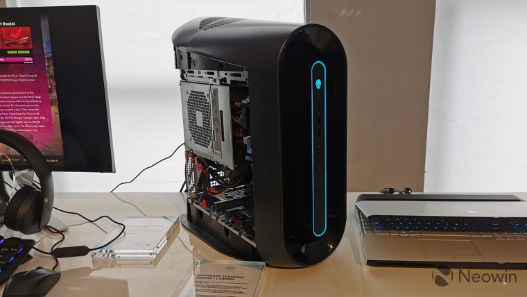 تقوم Alienware بإعادة تصميم سطح مكتب Aurora الخاص بها بلغة تصميم Legend 2