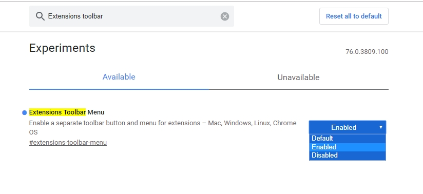 أيقونة امتدادات Chrome 2