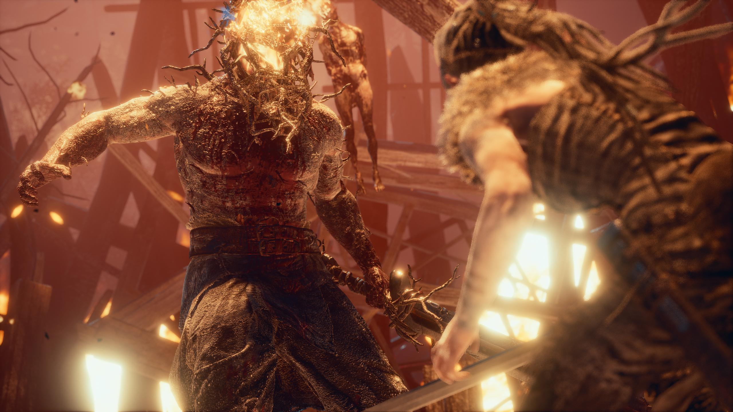 Hellblade: نصائح مكافحة التضحية لـ Senua واستراتيجيات Boss 9