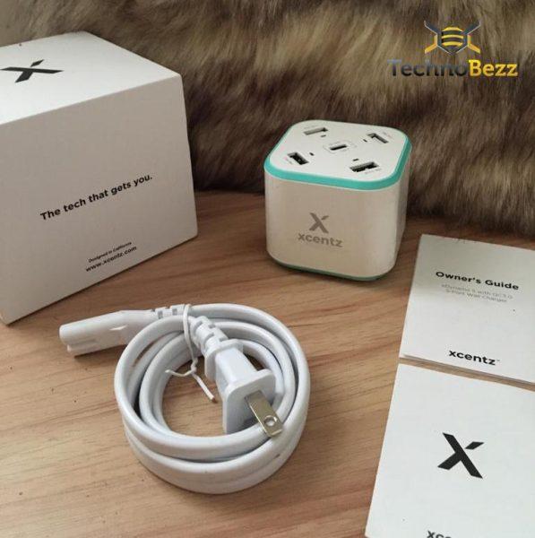 Xcentz 5 منافذ USB شحن محطة: لا مزيد من القتال للحصول على مقبس واحد 1
