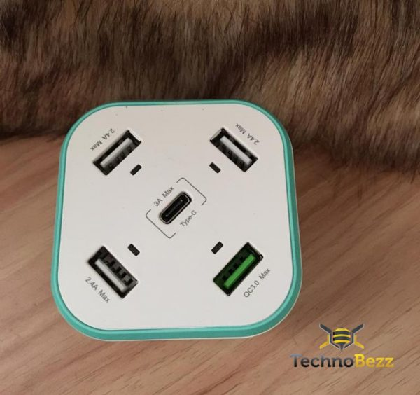 Xcentz 5 منافذ USB شحن محطة: لا مزيد من القتال للحصول على مقبس واحد 2
