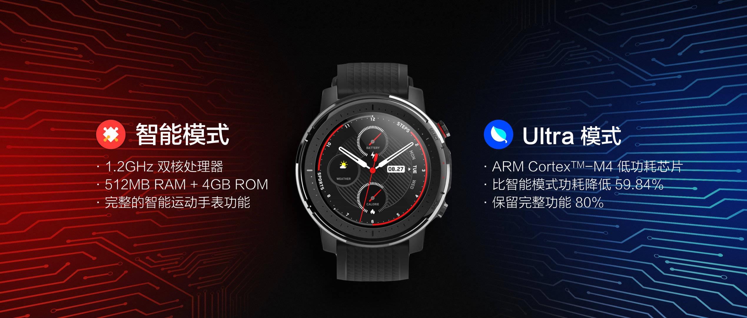 Amazfit Smart Sports Watch 3 ، الميزات والسعر والمواصفات. أخبار xiaomi المدمنين