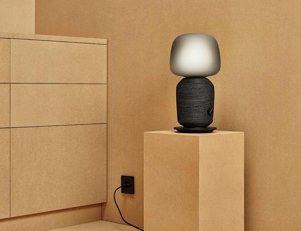 IKEA و Sonos Symfonisk مصباح طاولة مكبر صوت Wi-Fi