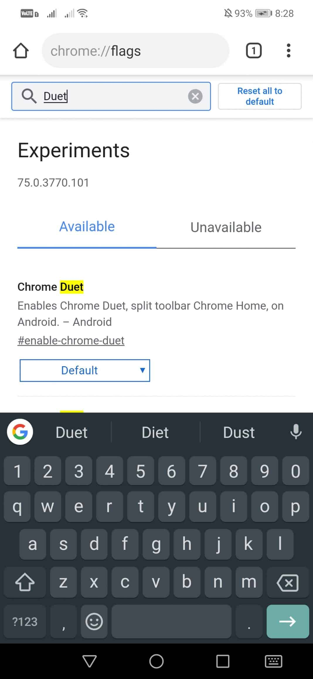 "انقل شريط عنوان Chrome إلى أسفل شاشتك ""width ="" 277 ""height ="" 600 ""srcset ="" https://techviral.net/wp-content/uploads/2019/08/Chrome-address-bar-4. jpg 1068w ، https://techviral.net/wp-content/uploads/2019/08/Chrome-address-bar-4-138x300.jpg 138w ، https://techviral.net/wp-content/uploads/2019/ 08 / Chrome-address-bar-4-768x1664.jpg 768w ، https://techviral.net/wp-content/uploads/2019/08/Chrome-address-bar-4-473x1024.jpg 473w ، https: // techviral.net/wp-content/uploads/2019/08/Chrome-address-bar-4-696x1508.jpg 696w ، https://techviral.net/wp-content/uploads/2019/08/Chrome-address-bar -4-194x420.jpg 194w ""data-lazy-sizes ="" (الحد الأقصى للعرض: 277 بكسل) 100 فولت ، 277 بكسل"