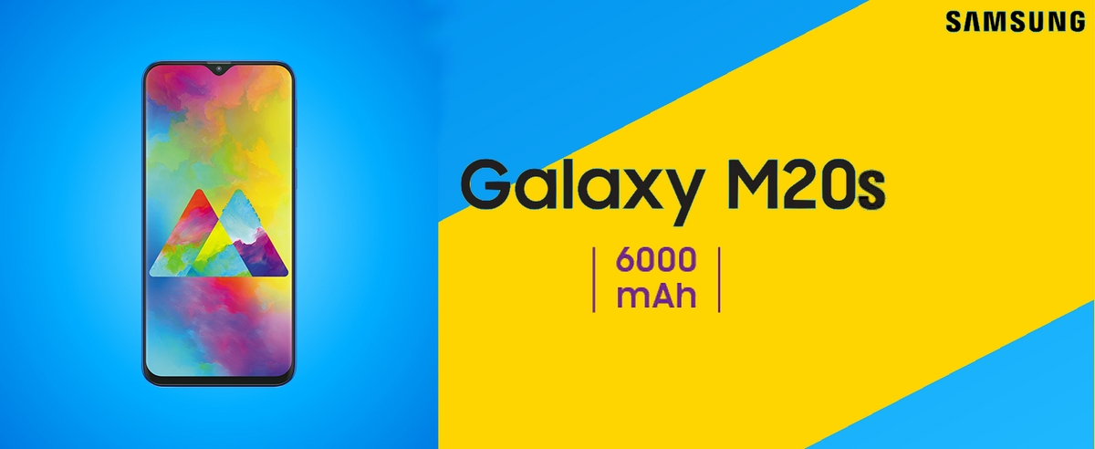- ▷ سامسونج Galaxy سوف M20s لديها بطارية ضخمة 6000mAh »- 2