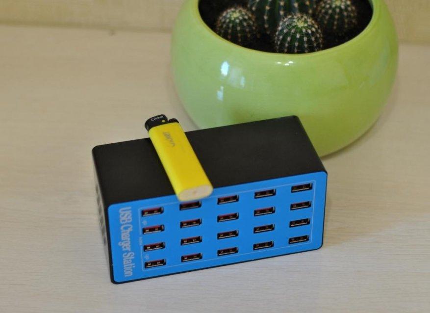 شاحن USB شاحن لمدة 20 منفذ USB. 3