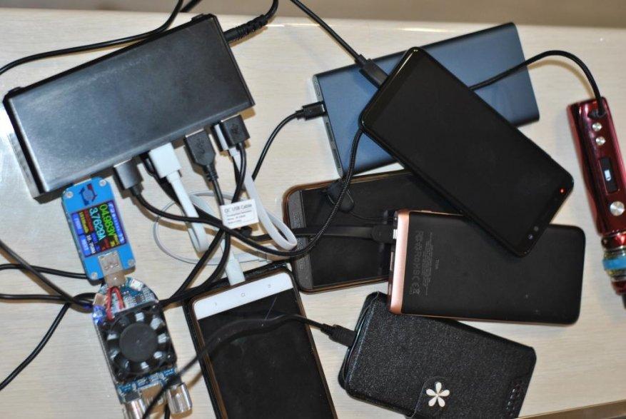 شاحن USB شاحن لمدة 20 منفذ USB. 21