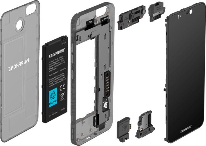 أعلنت شركة Fairphone 3 عن مواد صديقة للبيئة وتصميم وحدات 2