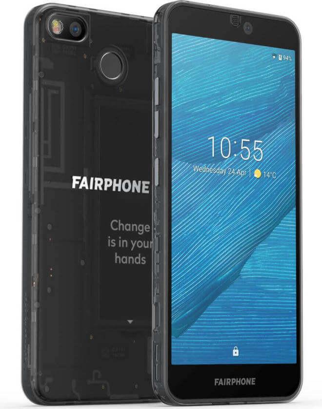 أعلنت شركة Fairphone 3 عن مواد صديقة للبيئة وتصميم وحدات 3