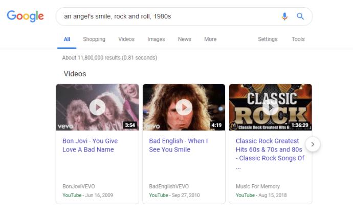كيفية البحث عن فيديو موسيقي دون معرفة الاسم 2
