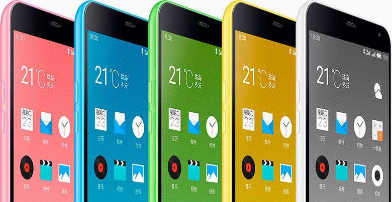 MEIZU M1 Note، استنساخ صيني لفيتامين iPhone 5c 2