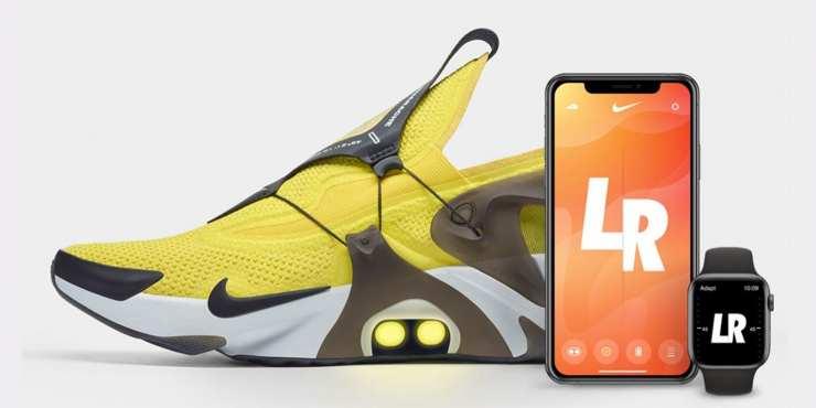 التكيف Huarache: أحذية رياضية نايك الجديدة التي يمكن السيطرة عليها مع سيري و Apple Watch 1