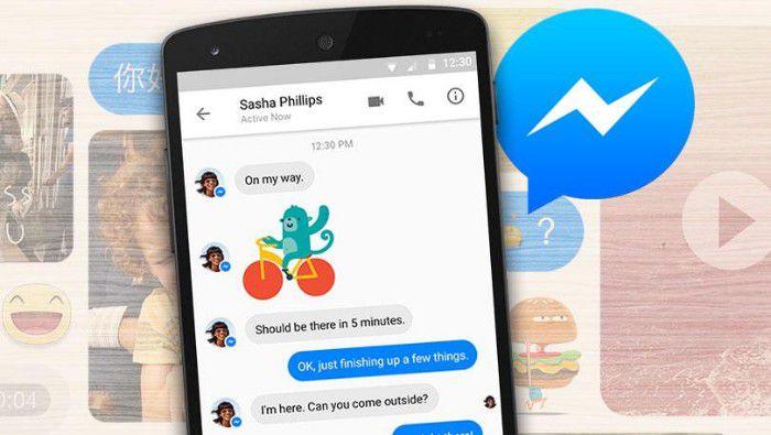 """Facebook  يشارك Messenger وظيفة الشاشة الجديدة """"width ="""" 700 """"height ="""" 395"""
