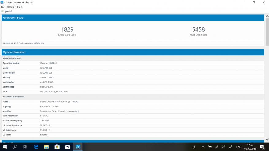 Teclast X4: مراجعة كمبيوتر لوحي قوي على بحيرة الجوزاء مع لوحة مفاتيح إضافية وذاكرة وصول عشوائي بسعة 8 جيجابايت و SSD 60